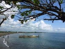 萨努尔海滩 免版税库存图片