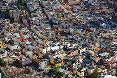 萨卡特卡斯州奥尔德敦在墨西哥 免版税库存图片