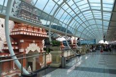 登巴萨国际机场 免版税库存照片