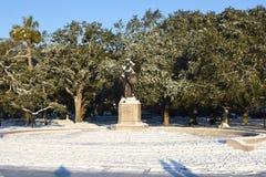 萨姆特堡纪念碑的防御者 免版税库存照片