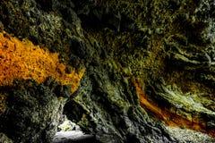 萨姆纳海滩洞-克赖斯特切奇看法  库存图片