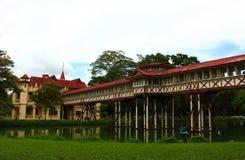 萨娜姆Chandra宫殿 免版税库存照片