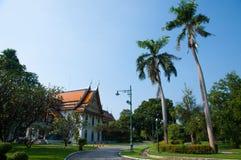 萨娜姆Chandra -泰国的老宫殿 免版税库存图片