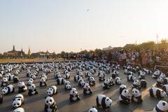 萨娜姆LUANG曼谷泰国3月4日 库存图片