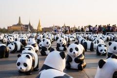 萨娜姆LUANG曼谷泰国3月4日 免版税库存照片