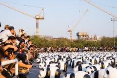 萨娜姆LUANG曼谷泰国3月4日 免版税库存图片