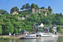 萨尔堡,莱茵河流域巴列丁奈特,德国 免版税库存图片