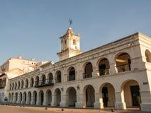 萨尔塔市政厅在阿根廷 免版税库存照片