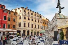 萨尔扎纳,意大利 免版税库存照片