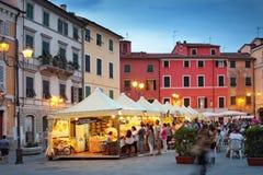 萨尔扎纳,意大利 免版税库存图片
