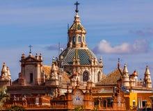 萨尔瓦多塞维利亚西班牙的教会 库存图片