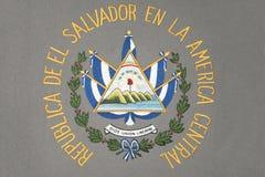 萨尔瓦多徽章 库存图片