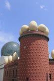 萨尔瓦多・达利博物馆的大厦的片段在Figueros 免版税库存照片