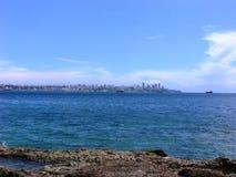 萨尔瓦多da巴伊亚海岸线 免版税库存图片