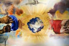萨尔瓦多Dali绘画 免版税库存照片