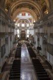 萨尔茨堡主教座堂的教堂中殿 免版税库存图片