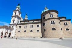 萨尔茨堡主教座堂Salzburger Dom 库存照片