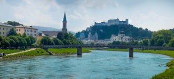 萨尔茨堡奥地利 免版税库存图片