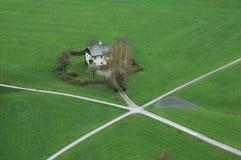 萨尔茨堡房子 免版税库存图片