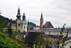 萨尔茨堡教会 库存照片