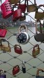 萨尔茨堡桥梁锁 库存图片