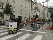 萨尔茨堡节日 免版税库存图片
