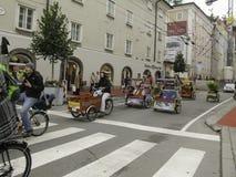 萨尔茨堡节日 免版税库存照片