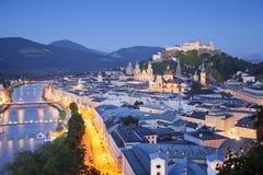 萨尔茨堡,奥地利。 免版税库存照片