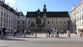 萨尔茨堡,奥地利城堡和河视图在傍晚 股票视频
