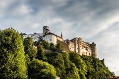 萨尔茨堡,奥地利城堡  库存照片