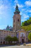 萨尔茨堡,奥地利- 2017年5月01日:彼得坟园在萨尔茨堡 免版税库存图片