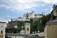 萨尔茨堡,奥地利 库存照片