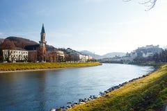 萨尔茨堡,奥地利 免版税库存图片