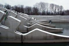 萨尔茨堡水力发电驻地 免版税图库摄影
