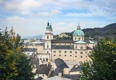 萨尔茨堡主教座堂,奥地利 免版税库存图片