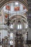 萨尔茨堡主教座堂-奥地利 库存照片