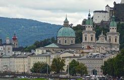 萨尔茨堡主教座堂 免版税库存图片