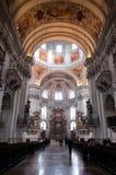 萨尔茨堡主教座堂 库存照片