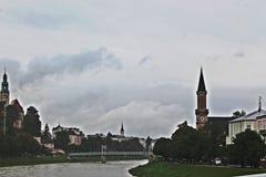 萨尔茨堡 库存照片