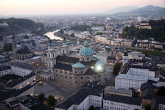 萨尔茨堡 免版税库存照片