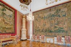萨尔茨堡Residenz宫殿在萨尔茨堡,奥地利 免版税库存图片