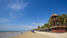 萨尼亚海南海滩 图库摄影