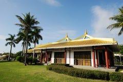 萨尼亚nanshan文化旅游业区域 免版税库存照片