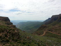 萨尼通行证-南非 图库摄影