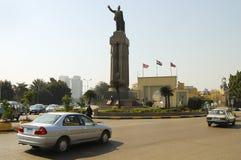萨德・扎格卢勒雕象-开罗 免版税库存图片