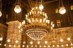 萨拉丁城堡内部在开罗埃及 免版税库存照片