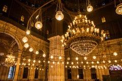 萨拉丁城堡内部在开罗埃及 图库摄影