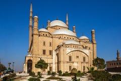 萨拉丁城堡在开罗埃及从外面 图库摄影