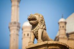 萨拉丁城堡在开罗埃及从外面 库存照片