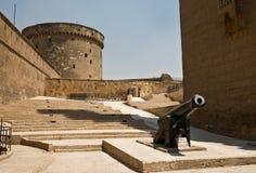 萨拉丁城堡城楼在开罗 库存照片